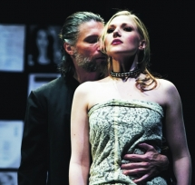 Steffanie Leigh and Anson Mount in Venus in Fur